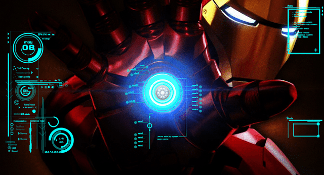 Iron Man JARVIS Software - Hiding desktop icons