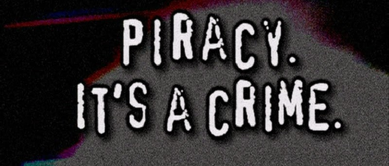 Piracy - It's a crime