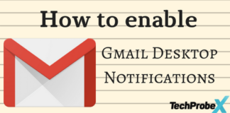 How to enable Gmail Desktop Notifications
