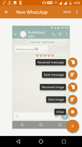 Yazzy Message Type - Fake WhatsApp Conversation